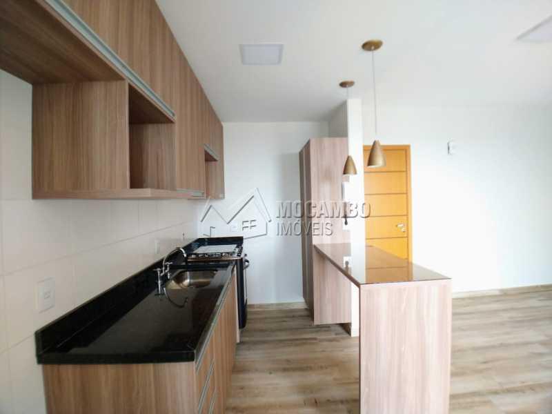 Cozinha - Apartamento 2 quartos à venda Itatiba,SP - R$ 415.000 - FCAP20899 - 3