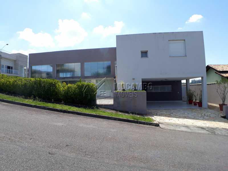Fachada - Casa em Condominio Para Venda ou Aluguel - Itatiba - SP - Residencial Fazenda Serrinha - FCCN40129 - 1