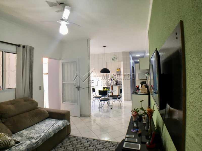 Sala de Tv - Casa Itatiba,Loteamento Vila Real,SP À Venda,2 Quartos,64m² - FCCA21163 - 4