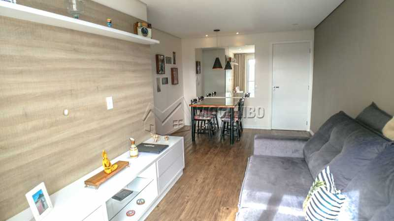 Condomínio Vila Itália - Apartamento À Venda no Condomínio Residencial Villa Itália - Loteamento Santo Antônio - Itatiba - SP - FCAP20908 - 3