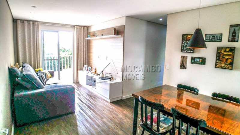 Condomínio Vila Itália - Apartamento À Venda no Condomínio Residencial Villa Itália - Loteamento Santo Antônio - Itatiba - SP - FCAP20908 - 1