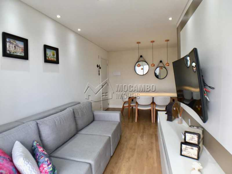 Sala de tv - Apartamento 2 quartos à venda Itatiba,SP - R$ 275.000 - FCAP20909 - 1