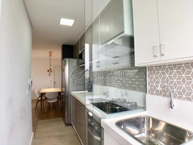 Cozinha - Apartamento 2 quartos à venda Itatiba,SP - R$ 275.000 - FCAP20909 - 7