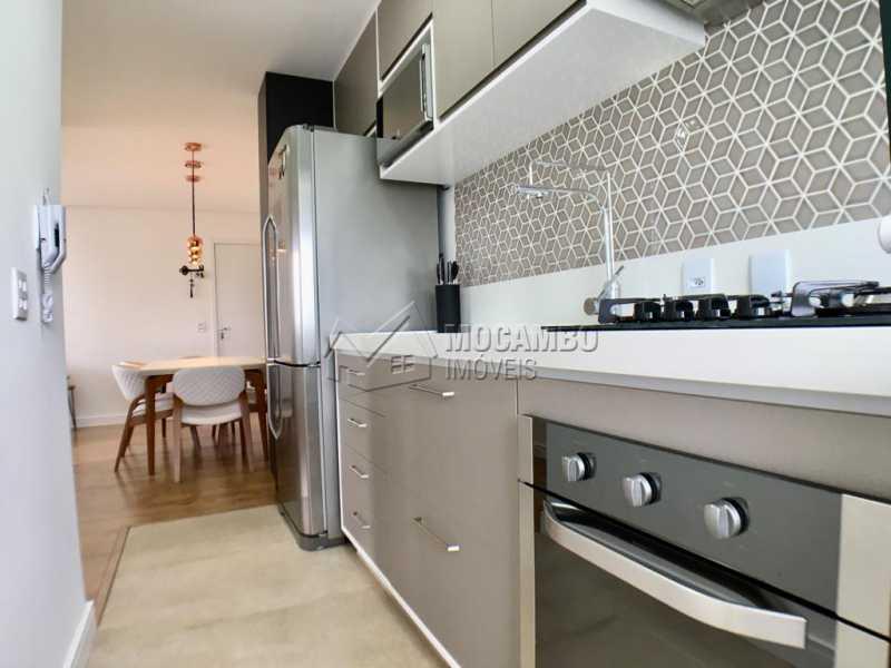 Cozinha - Apartamento 2 quartos à venda Itatiba,SP - R$ 275.000 - FCAP20909 - 6