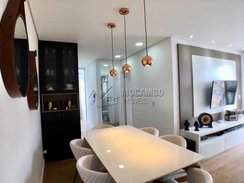 Sala de tv - Apartamento 2 quartos à venda Itatiba,SP - R$ 275.000 - FCAP20909 - 4