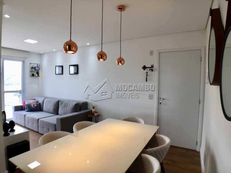 Sala de tv - Apartamento 2 quartos à venda Itatiba,SP - R$ 275.000 - FCAP20909 - 5