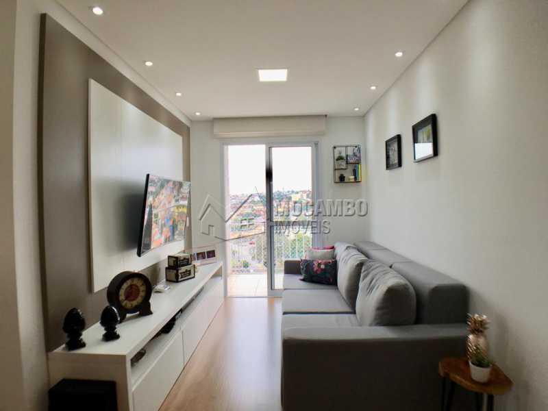 Sala de tv - Apartamento 2 quartos à venda Itatiba,SP - R$ 275.000 - FCAP20909 - 3