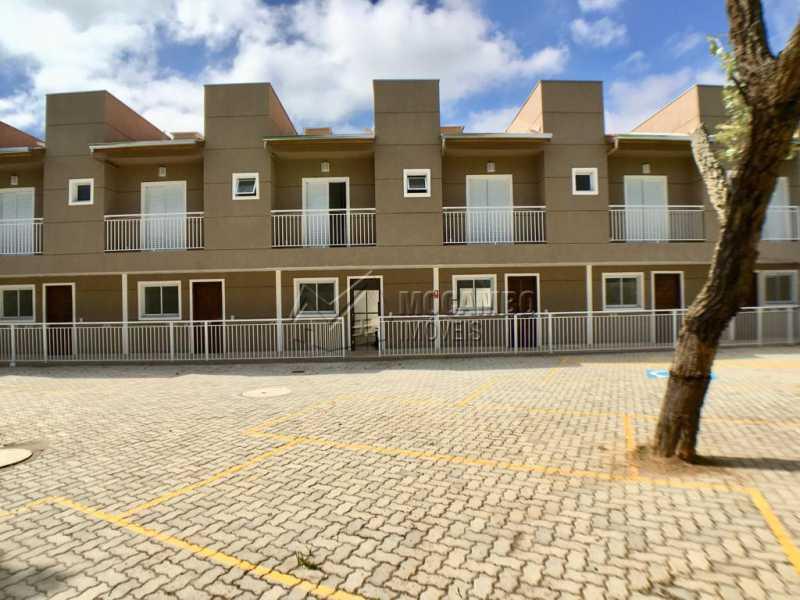 Fachada - Casa em Condominio Itatiba,Loteamento Rei de Ouro,SP À Venda,3 Quartos,82m² - FCCN30389 - 19