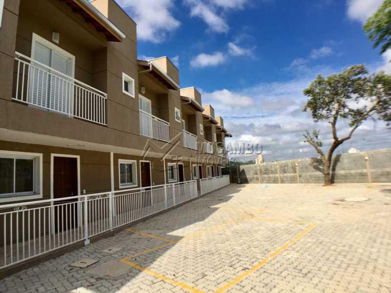 Área externa - Casa em Condominio À Venda - Itatiba - SP - Loteamento Rei de Ouro - FCCN30391 - 19