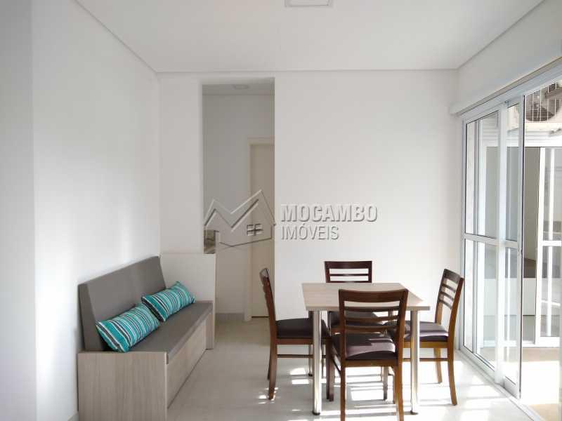 Sala - Apartamento Para Alugar - Itatiba - SP - Loteamento Morrão Da Força - FCAP10073 - 1