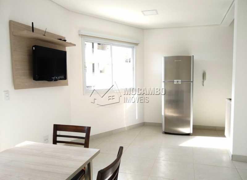 Sala de jantar - Apartamento Para Alugar - Itatiba - SP - Loteamento Morrão Da Força - FCAP10073 - 5