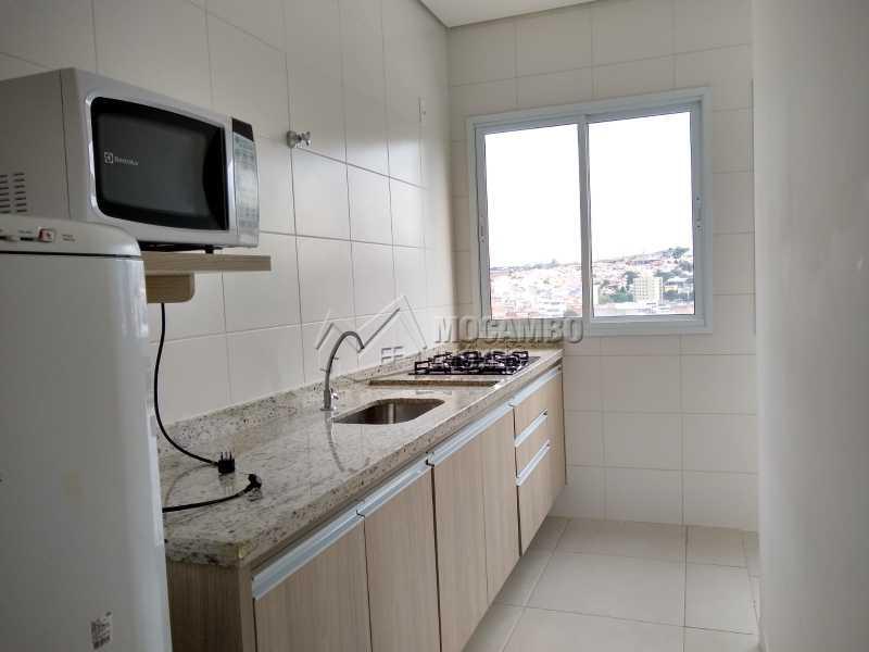 Cozinha - Apartamento 1 quarto para alugar Itatiba,SP - R$ 1.400 - FCAP10074 - 3
