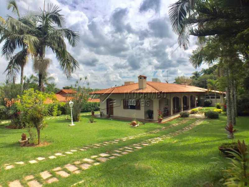 Área externa - Casa em Condomínio 4 Quartos À Venda Itatiba,SP - R$ 950.000 - FCCN40130 - 1