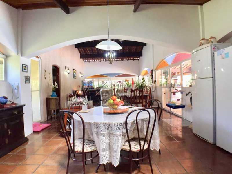 Sala de jantar - Casa em Condominio À Venda - Itatiba - SP - Ville Chamonix - FCCN40130 - 22