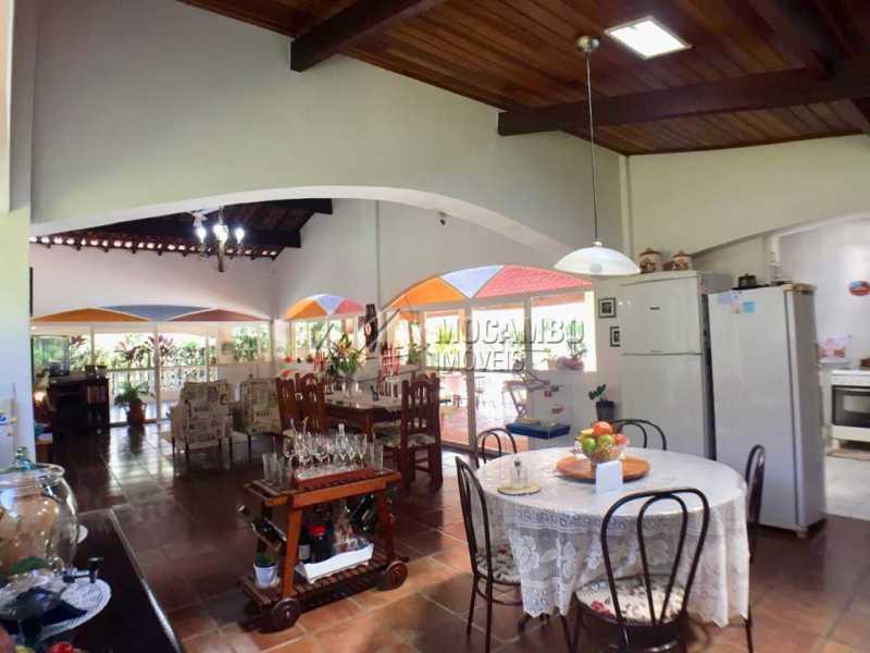 Sala de jantar - Casa em Condominio À Venda - Itatiba - SP - Ville Chamonix - FCCN40130 - 24
