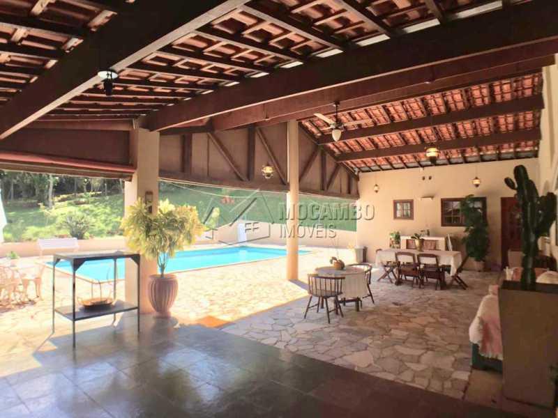 Varanda - Casa em Condominio À Venda - Itatiba - SP - Ville Chamonix - FCCN40130 - 26