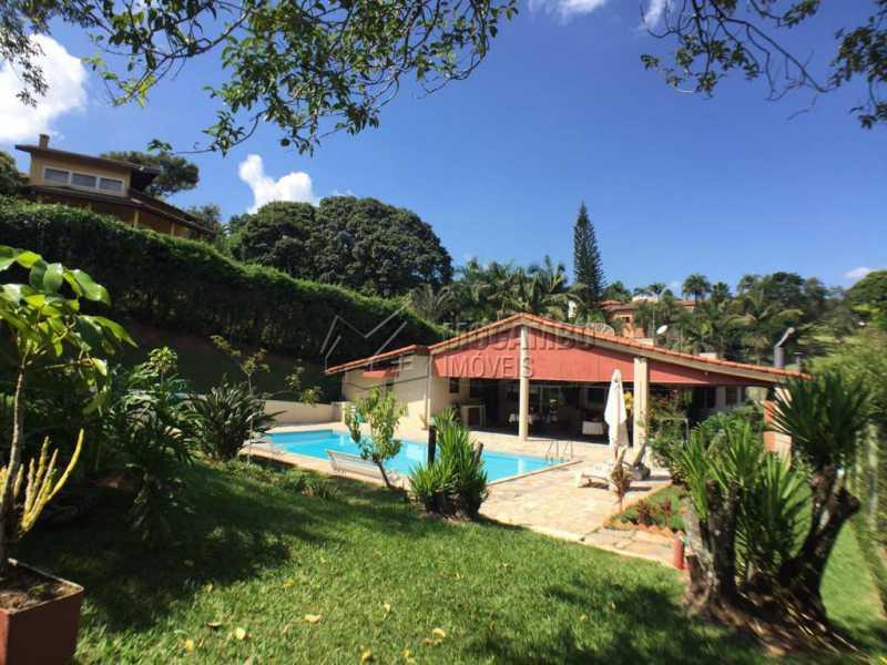 Área externa - Casa em Condomínio 4 Quartos À Venda Itatiba,SP - R$ 950.000 - FCCN40130 - 28