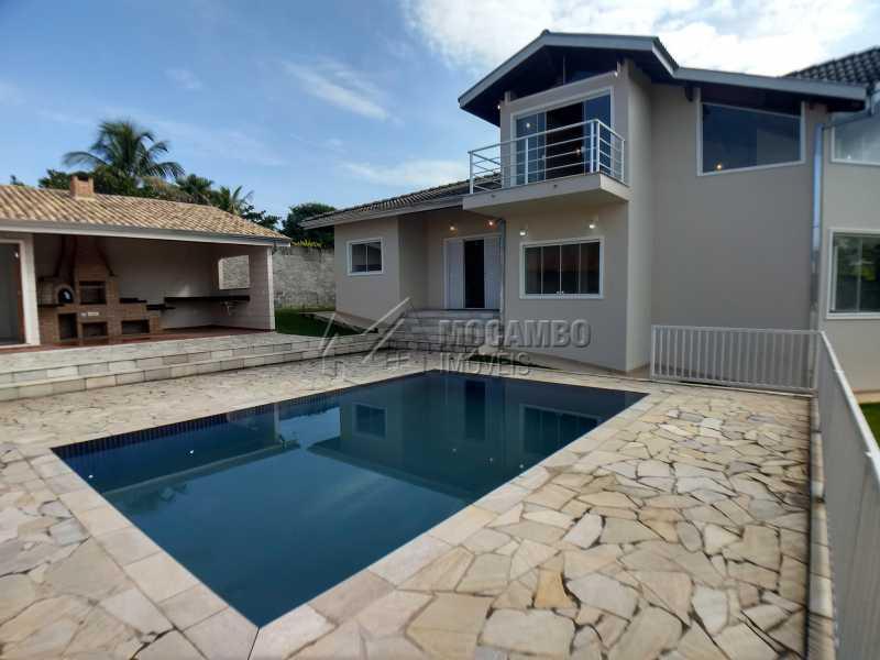 Área Externa - Casa em Condominio À Venda - Itatiba - SP - Sítio da Moenda - FCCN40131 - 1