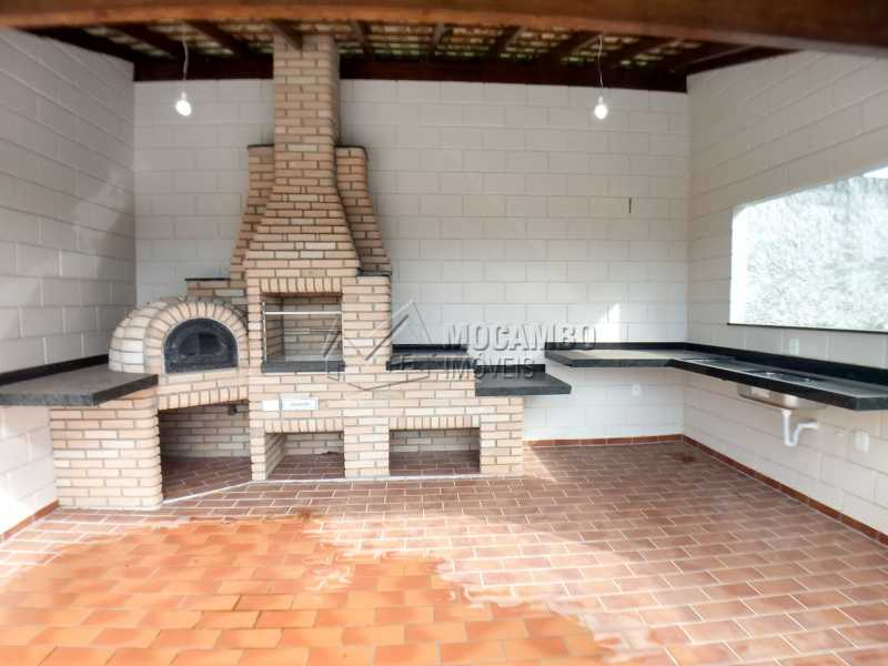 Área de Churrasqueira - Casa em Condominio À Venda - Itatiba - SP - Sítio da Moenda - FCCN40131 - 21
