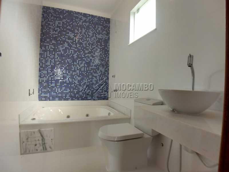 Banheiro Suíte Master - Casa em Condominio À Venda - Itatiba - SP - Sítio da Moenda - FCCN40131 - 20