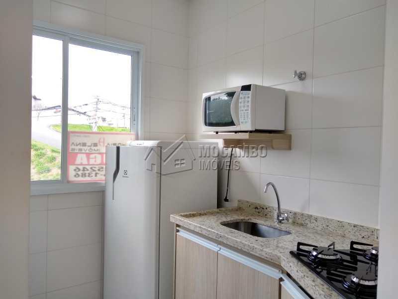 Cozinha - Apartamento Para Alugar - Itatiba - SP - Loteamento Morrão Da Força - FCAP10078 - 1