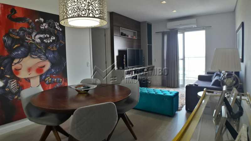 Sala - Apartamento 3 quartos à venda Itatiba,SP - R$ 430.000 - FCAP30479 - 1