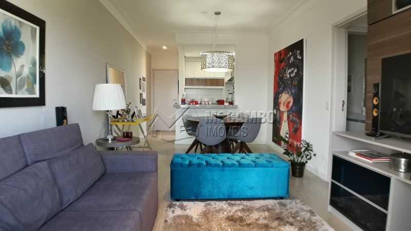 Sala - Apartamento 3 quartos à venda Itatiba,SP - R$ 430.000 - FCAP30479 - 3