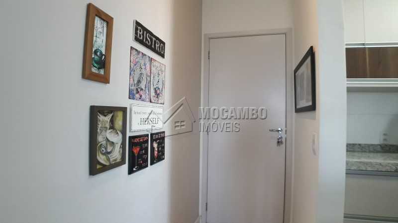 Corredor de Entrada - Apartamento 3 quartos à venda Itatiba,SP - R$ 430.000 - FCAP30479 - 5