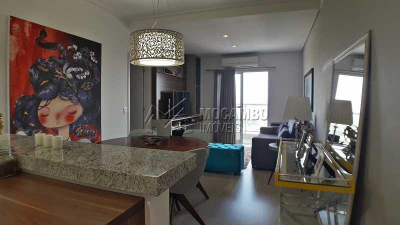 Sala - Apartamento 3 quartos à venda Itatiba,SP - R$ 430.000 - FCAP30479 - 4
