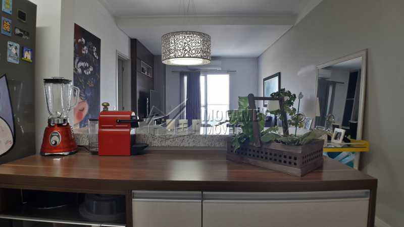 Cozinha Americana - Apartamento 3 quartos à venda Itatiba,SP - R$ 430.000 - FCAP30479 - 8