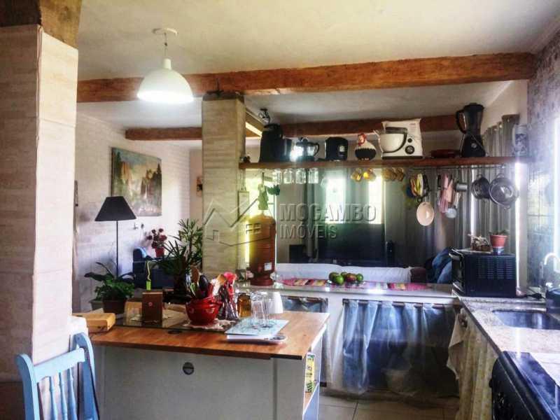 Cozinha e copa - Casa em Condomínio 2 Quartos À Venda Itatiba,SP - R$ 600.000 - FCCN20028 - 6