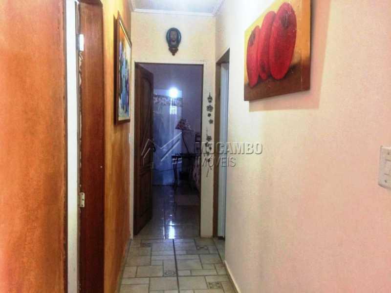 Corredor - Casa em Condomínio 2 Quartos À Venda Itatiba,SP - R$ 600.000 - FCCN20028 - 7