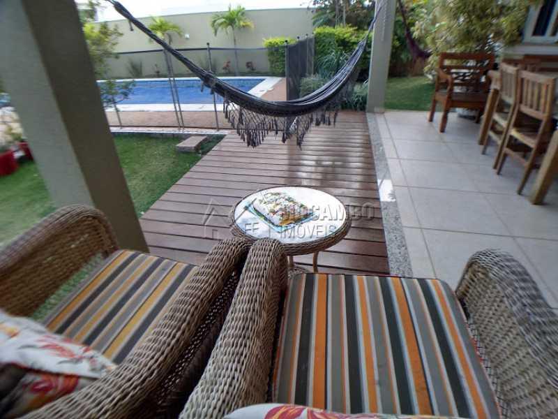 Deck - Casa em Condomínio 3 quartos à venda Itatiba,SP - R$ 1.600.000 - FCCN30396 - 1