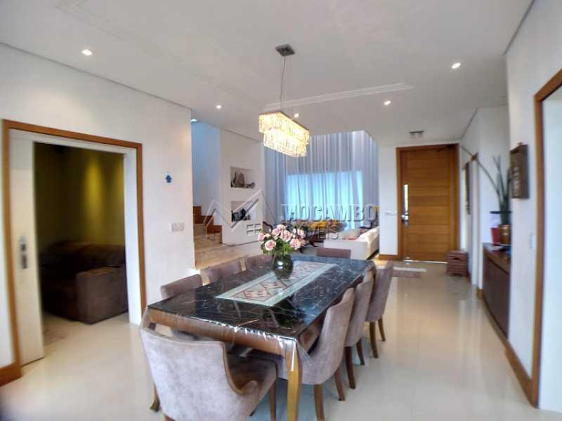 Sala de Jantar - Casa em Condomínio 3 quartos à venda Itatiba,SP - R$ 1.600.000 - FCCN30396 - 12