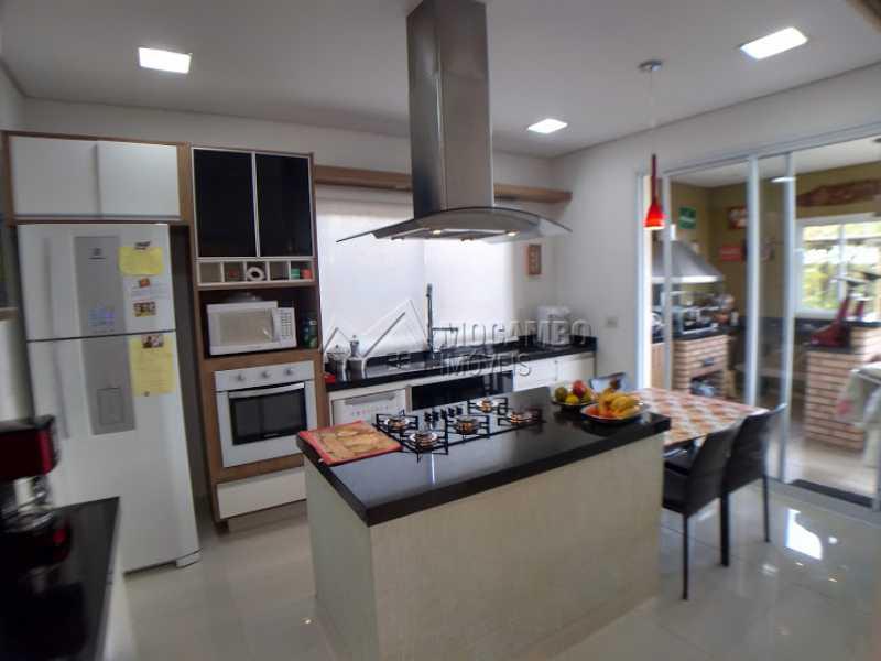 cozinha  - Casa em Condomínio 3 quartos à venda Itatiba,SP - R$ 1.600.000 - FCCN30396 - 22