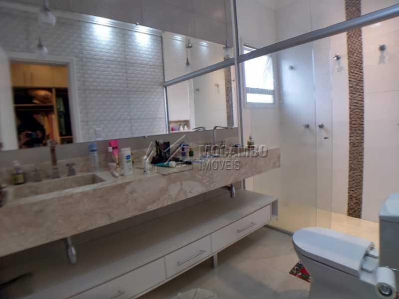 Banheiro  suíte casal - Casa em Condomínio 3 quartos à venda Itatiba,SP - R$ 1.600.000 - FCCN30396 - 8