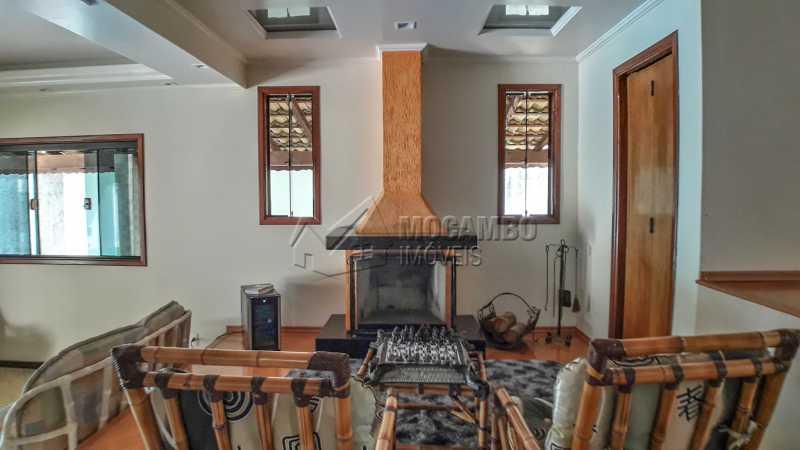 Sala com Lareira - Casa em Condomínio 4 quartos à venda Itatiba,SP - R$ 990.000 - FCCN40132 - 15