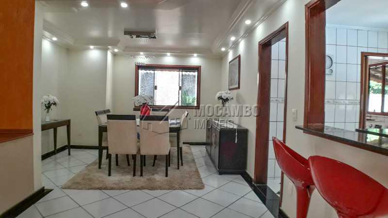 Sala de Jantar - Casa em Condomínio 4 quartos à venda Itatiba,SP - R$ 990.000 - FCCN40132 - 11
