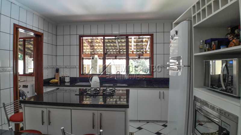 Cozinha - Casa em Condomínio 4 quartos à venda Itatiba,SP - R$ 990.000 - FCCN40132 - 13