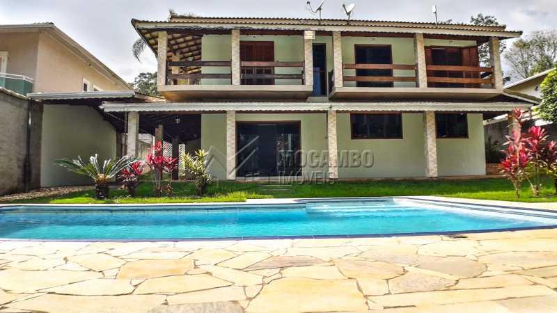 Fachada  - Casa em Condomínio 4 quartos à venda Itatiba,SP - R$ 990.000 - FCCN40132 - 1