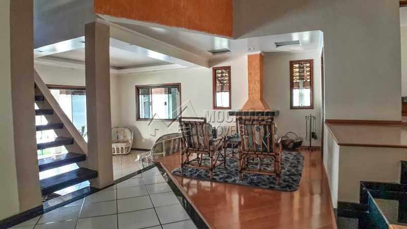 Salas Ambientes - Casa em Condomínio 4 quartos à venda Itatiba,SP - R$ 990.000 - FCCN40132 - 16