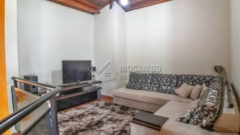 Sala de TV - Casa em Condomínio 4 quartos à venda Itatiba,SP - R$ 990.000 - FCCN40132 - 26