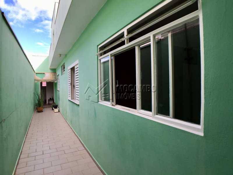 Lateral - Casa 2 quartos à venda Itatiba,SP - R$ 270.000 - FCCA21177 - 13