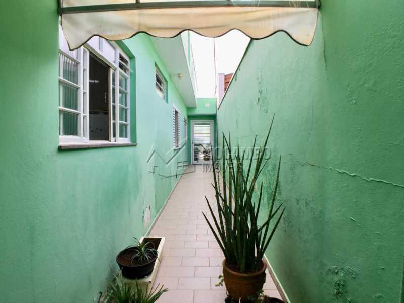 Lateral - Casa 2 quartos à venda Itatiba,SP - R$ 270.000 - FCCA21177 - 14