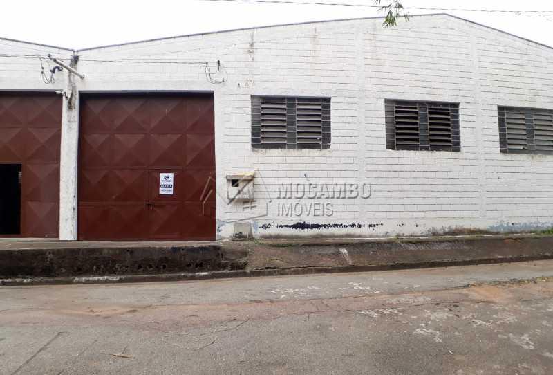 Fachada - Galpão 700m² para alugar Itatiba,SP - R$ 5.000 - FCGA00157 - 1