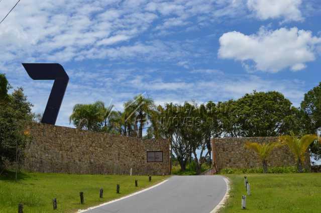 Chegada Condomínio Sete Lagos - Terreno Unifamiliar à venda Itatiba,SP - R$ 320.000 - FCUF01226 - 9