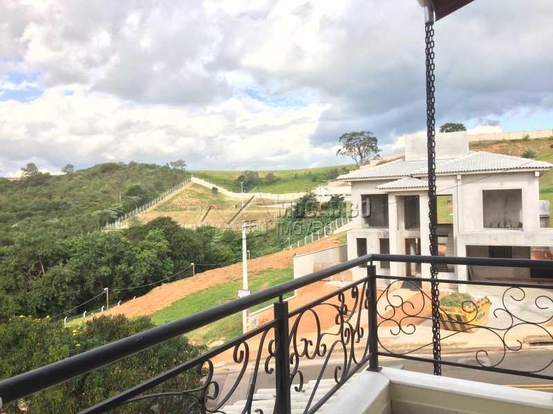 Varanda suíte - Casa em Condomínio 3 quartos à venda Itatiba,SP - R$ 1.060.000 - FCCN30398 - 20