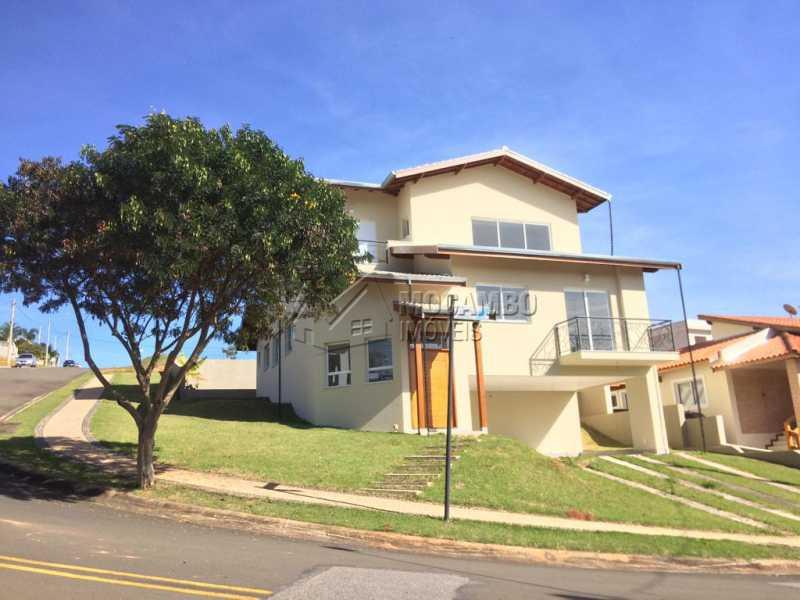 Fachada - Casa em Condomínio 3 quartos à venda Itatiba,SP - R$ 1.060.000 - FCCN30398 - 1