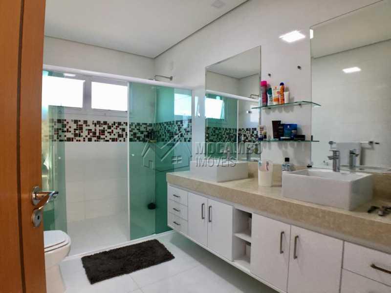 Banheiro suíte - Casa em Condomínio 4 quartos para alugar Itatiba,SP - R$ 5.700 - FCCN40134 - 25