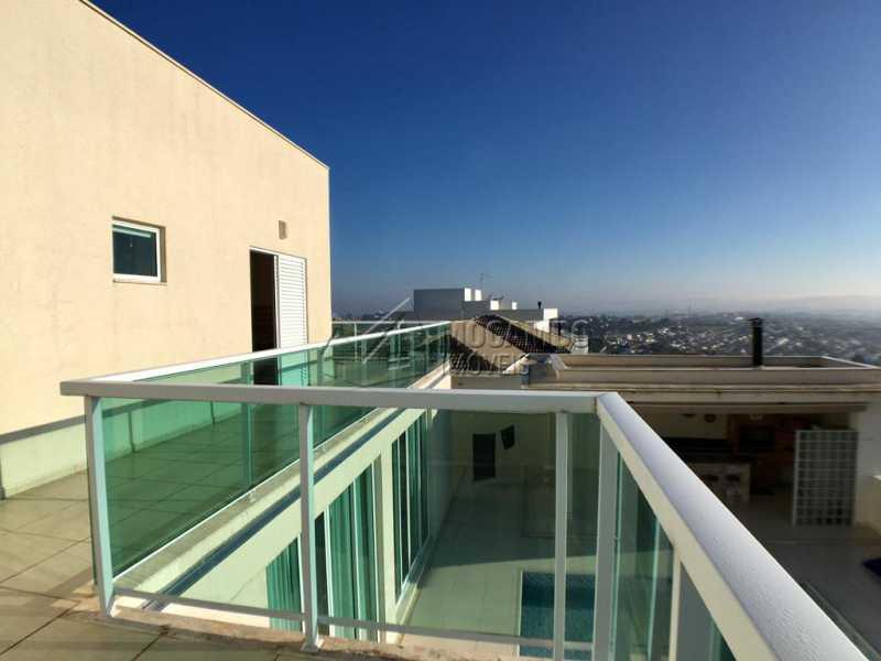 Varanda - Casa em Condomínio 4 quartos para alugar Itatiba,SP - R$ 5.700 - FCCN40134 - 26